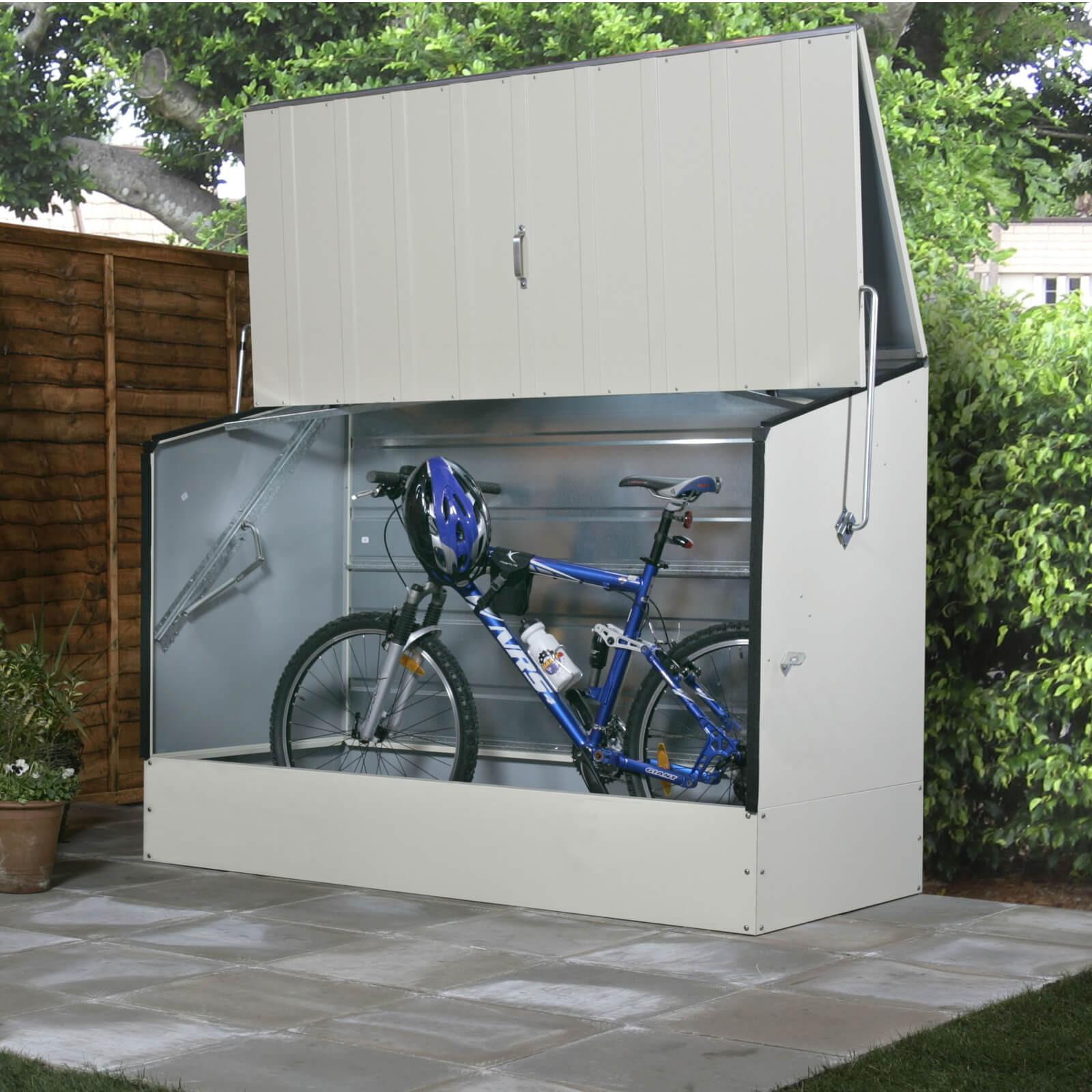 Tepro Metall Fahrradbox / Fahrradgarage beige 7132