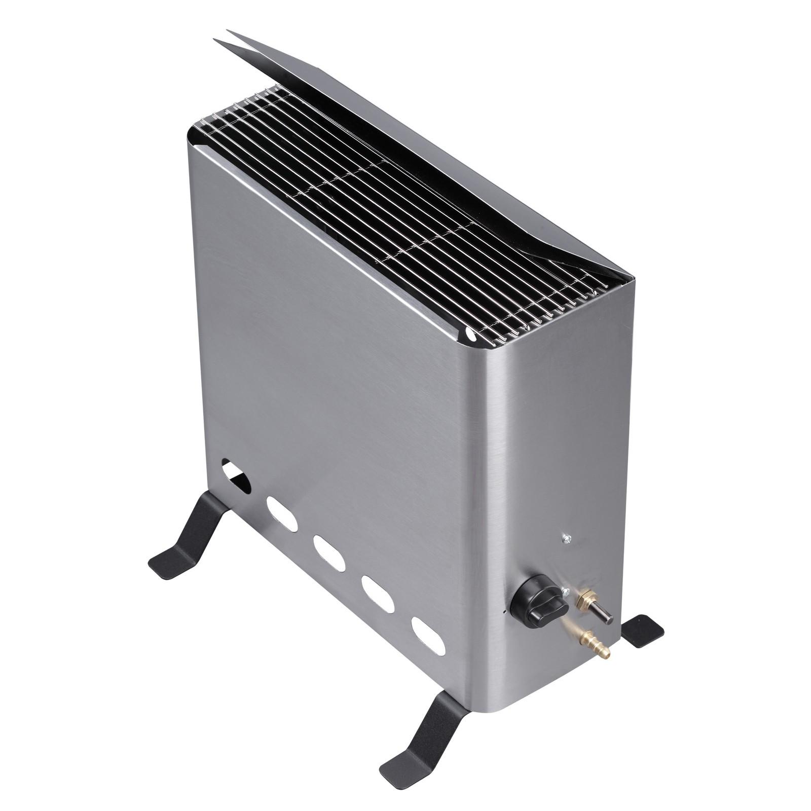 Tepro Gewächshausheizung Gasheizung Gewächshaus Gasheizer mit Thermostat 4,2 kW 2051