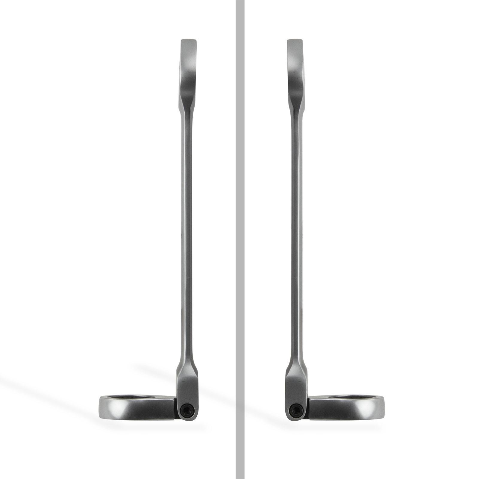 Dema Gelenk- Ratschenringschlüssel / Maul-Ratschenschlüssel 17 mm 21859