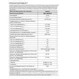 Amica Waschmaschine A+++ 6Kg/1400 U/min