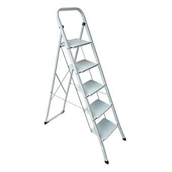 Stahl Haushaltsleiter 2 / 3 / 4 / 5 Stufen Leiter - Auswahl – Bild $_i