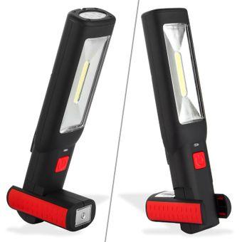 LED Handlampe Arbeitslampe Handleuchte 3W Li-Ion Werkstattlampe Leuchte Lampe – Bild $_i