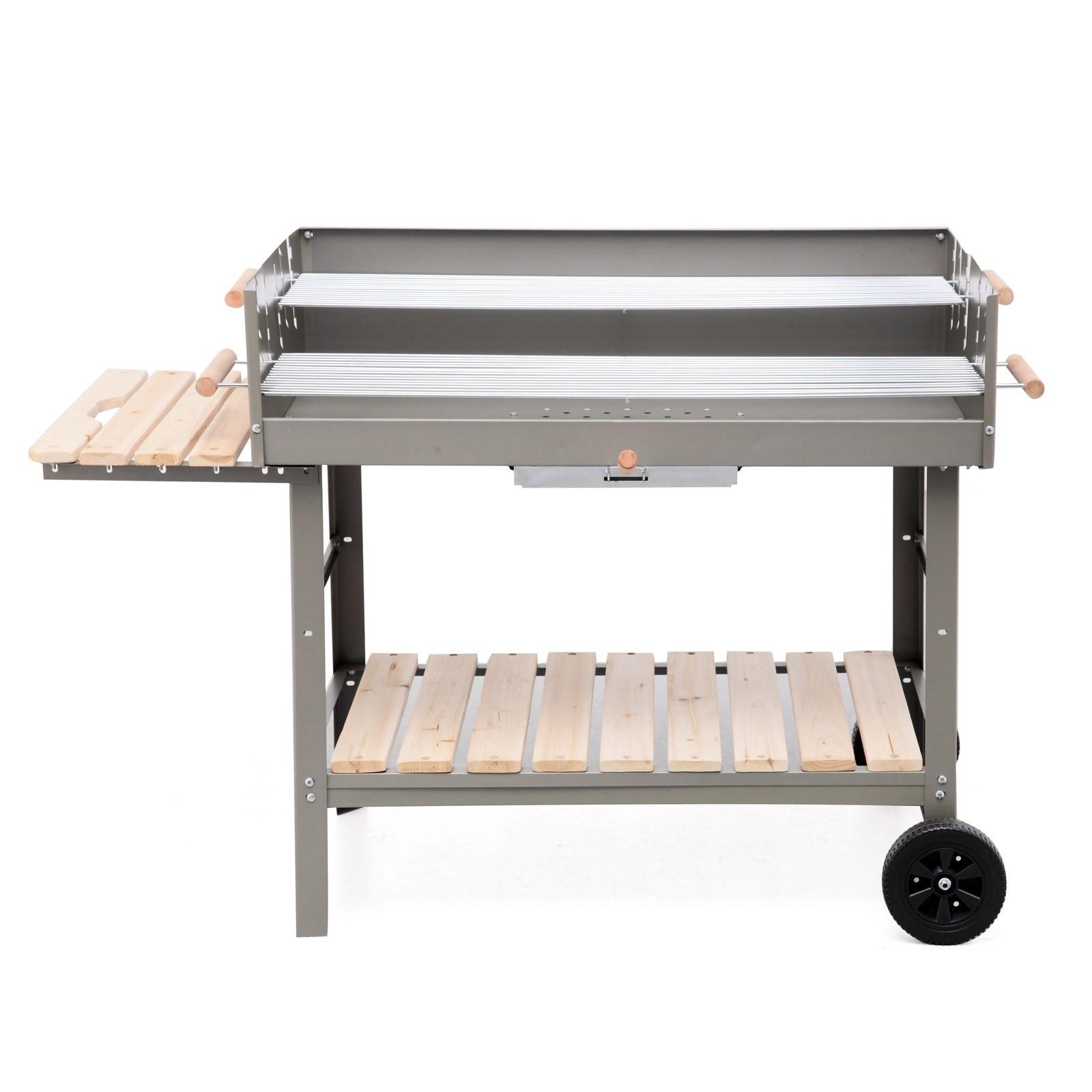 tepro holzkohlegrill grillwagen bbq grill kohlegrill jackson xxl fahrbar ebay. Black Bedroom Furniture Sets. Home Design Ideas