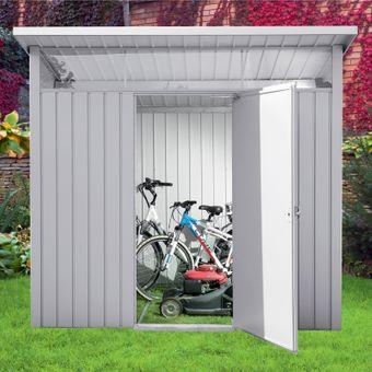 Tepro Metallgerätehaus / Gerätehaus Palladium 8x6 silber – Bild $_i