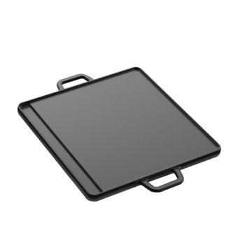 Tepro Gussgrillplatte / Guss Platte, 2-Seitig Größe L – Bild $_i