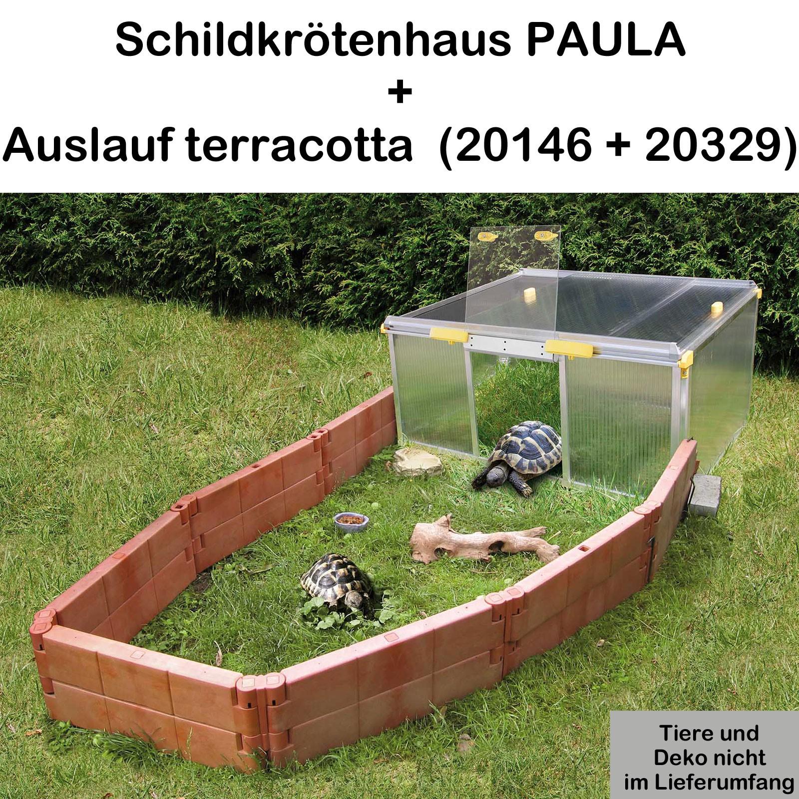 Juwel Schildkrötenhaus PAULA m./o. Zubehör Anbausatz Freigehege 20146+20329