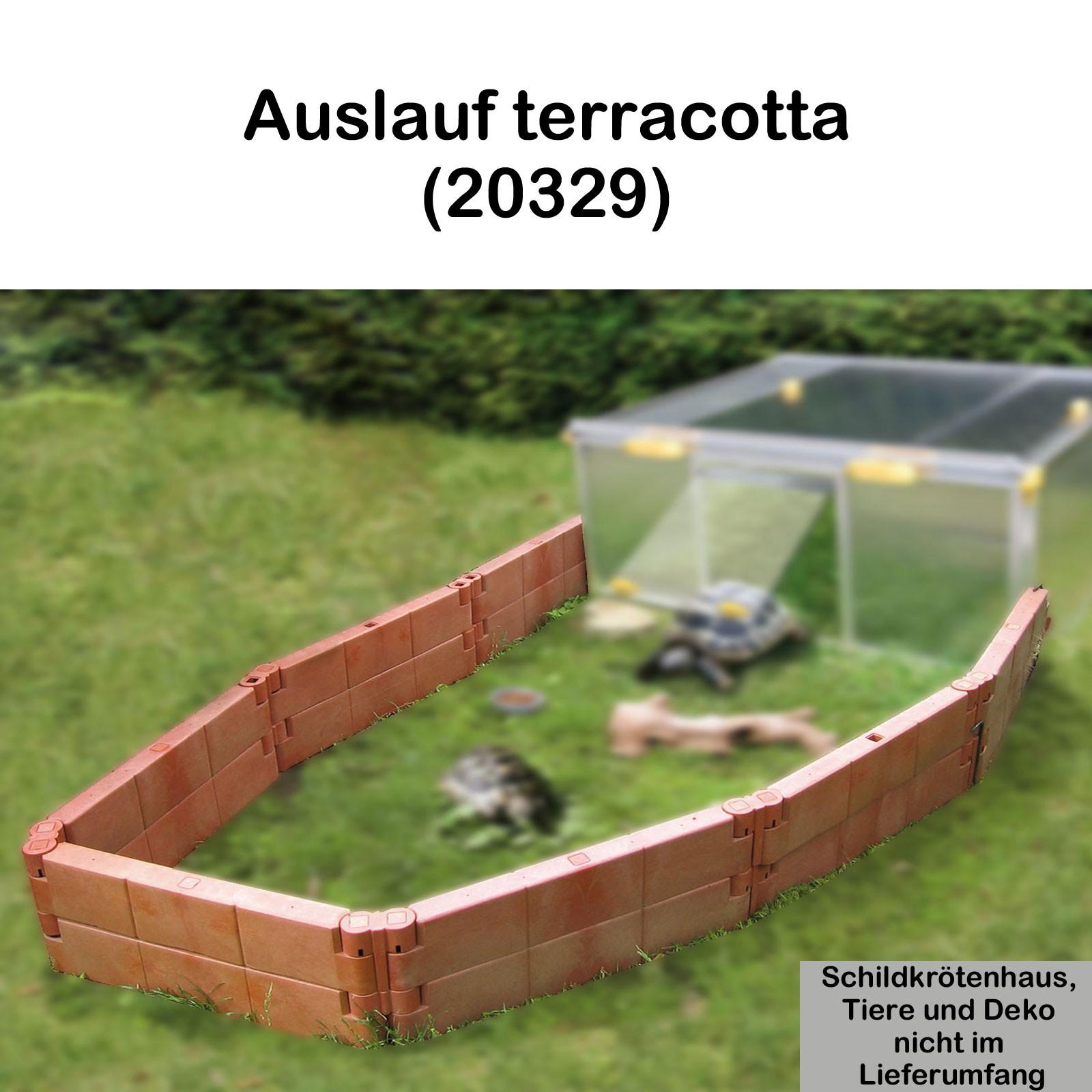 Juwel Schildkrötenhaus PAULA m./o. Zubehör Anbausatz Freigehege 20329