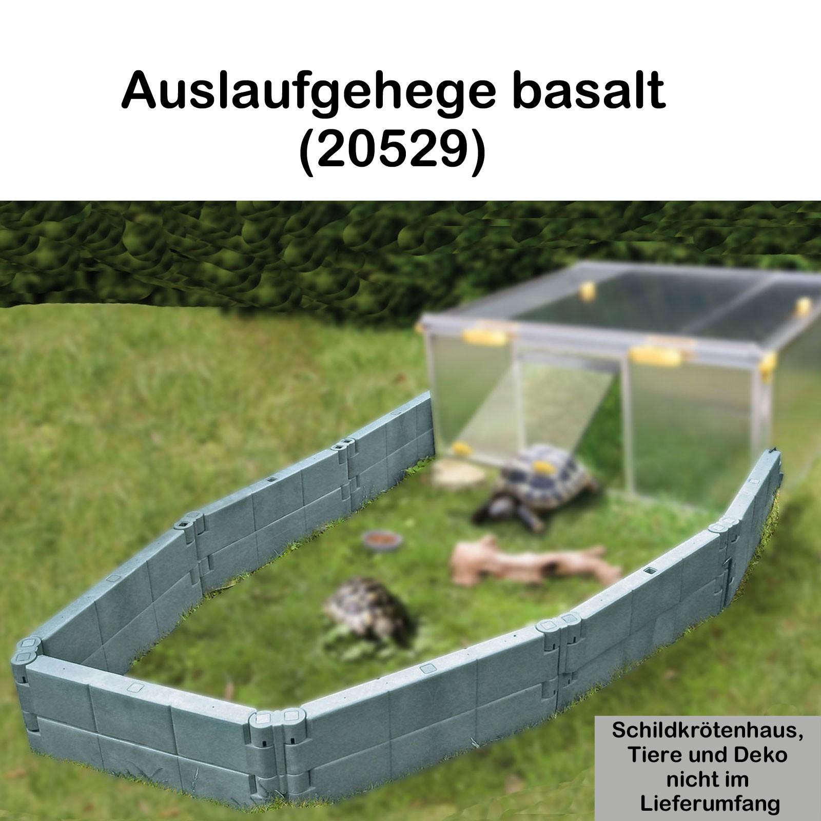 Juwel Schildkrötenhaus PAULA m./o. Zubehör Anbausatz Freigehege 20529