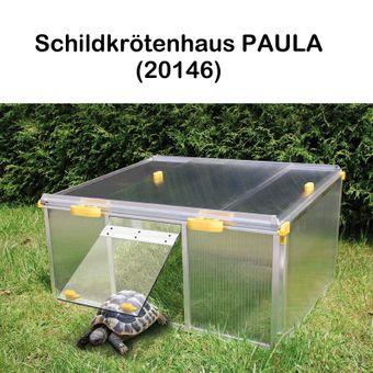 Juwel Schildkrötenhaus PAULA m./o. Zubehör Anbausatz Freigehege – Bild $_i