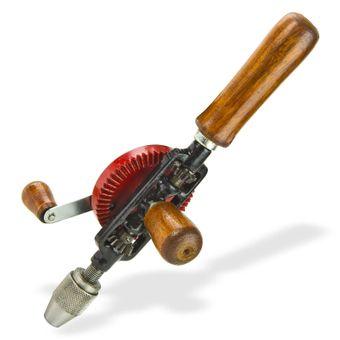 Handbohrer HB 6 Handbohrmaschine Borhmaschine Spiralbohrer Bohrer bis 6mm – Bild $_i