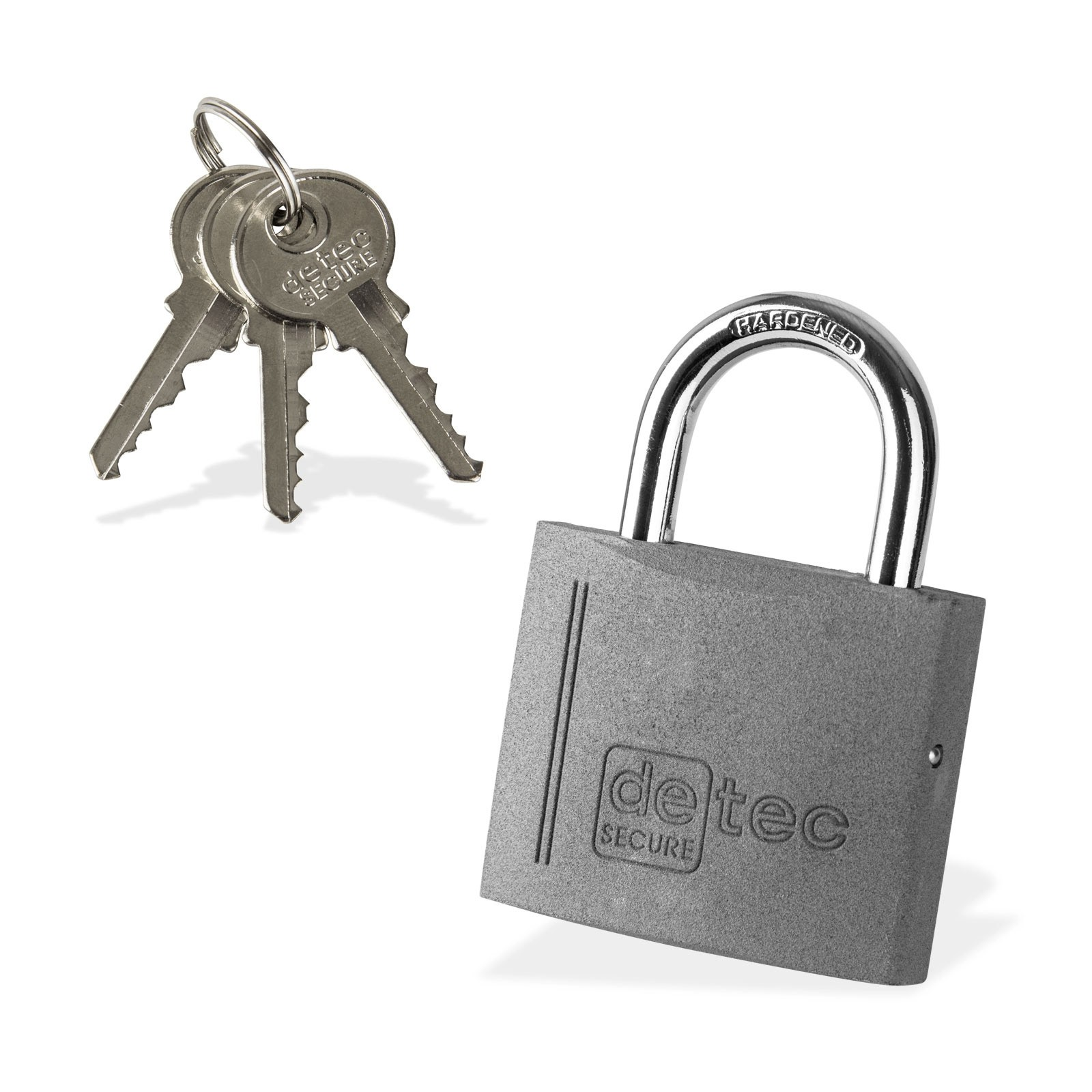 Dema Vorhängeschloss / Bügelschloss / Sicherheitsschloss VS60 mit 3 Schlüssel 21674