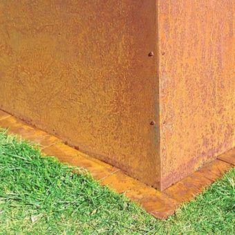 Prima Terra Edelrost Metall Hochbeet Planus Hohe 35cm Auswahl
