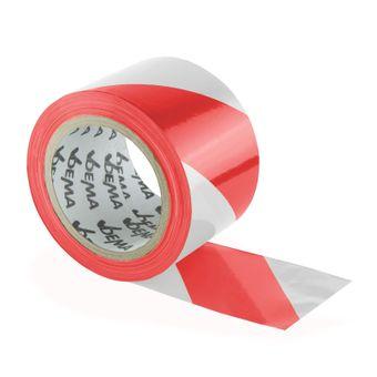 Absperrband 100 m rot/weiß Flatterband – Bild $_i