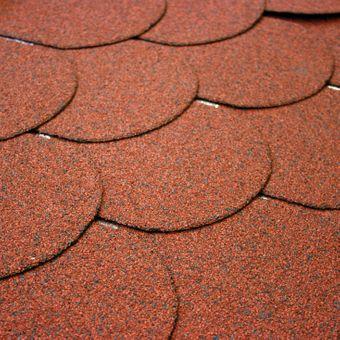 Dachschindeln Biberschwanz Rot 24 Pack = 84 m² – Bild $_i