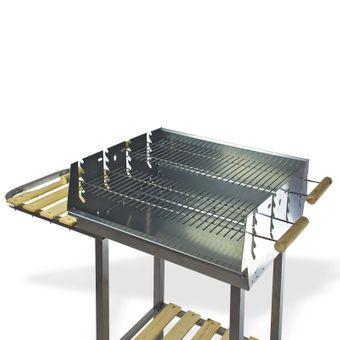Grillwagen / Holzkohlegrill MONTANA II Gartengrill Barbecue-Grill – Bild $_i