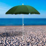 Strandschirm / Sonnenschirm grün 180 cm UV30