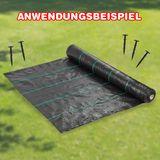 50 Stück Erdanker Befestigung für Mulchfolie 120 mm