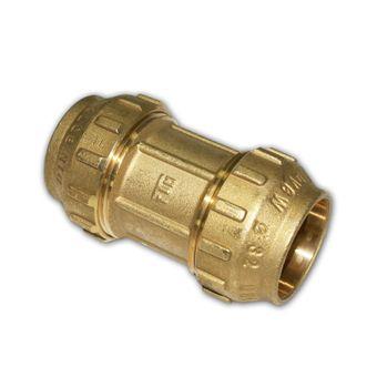 PE Rohr Verschraubung Messing Kupplung 20 - 40 mm – Bild $_i