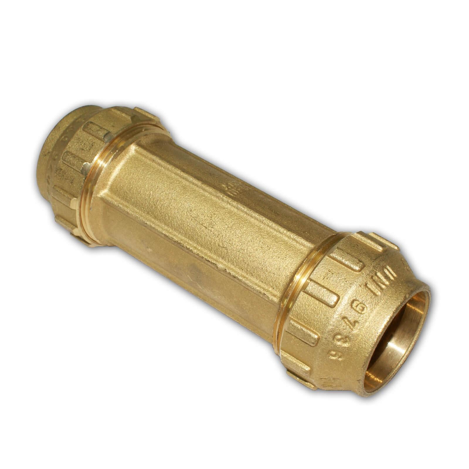 5 Stück   PE Rohr Verschraubung   Ø  25 x 20 mm  reduziert mit  Kupplung