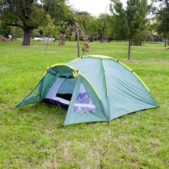 Fixkraft Camping Zelt 3-Personen Outdoor 210x120 cm Reykjavik