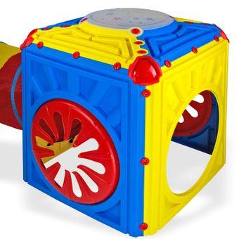 Kinder Aktivitätswürfel mit Tunnel - erweiterbar – Bild $_i