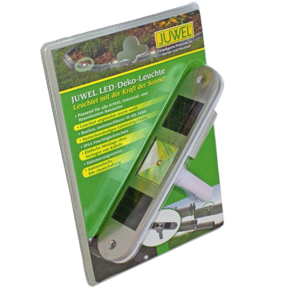 Juwel Garten Solar LED Deko-Leuchte für Gartenbausteine 20105