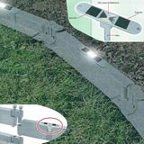 Juwel Garten Solar LED Deko-Leuchte für Gartenbausteine