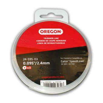 Oregon Fadendisk 2,4 mm x 7 m Gator Speedload 3er Pack – Bild $_i