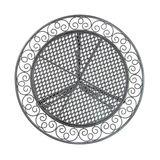 Gartentisch Provence grau 60x70 cm