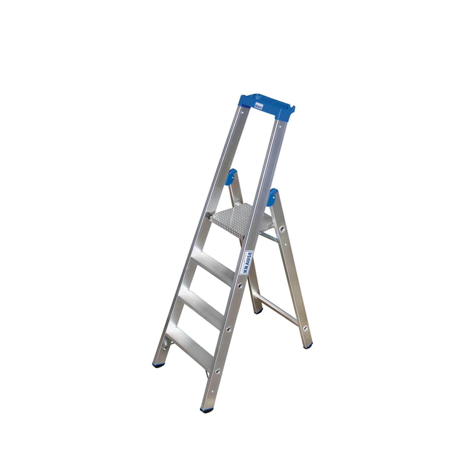 Krause Stabilo Stehleiter 4 Stufen Profiqualität 124517