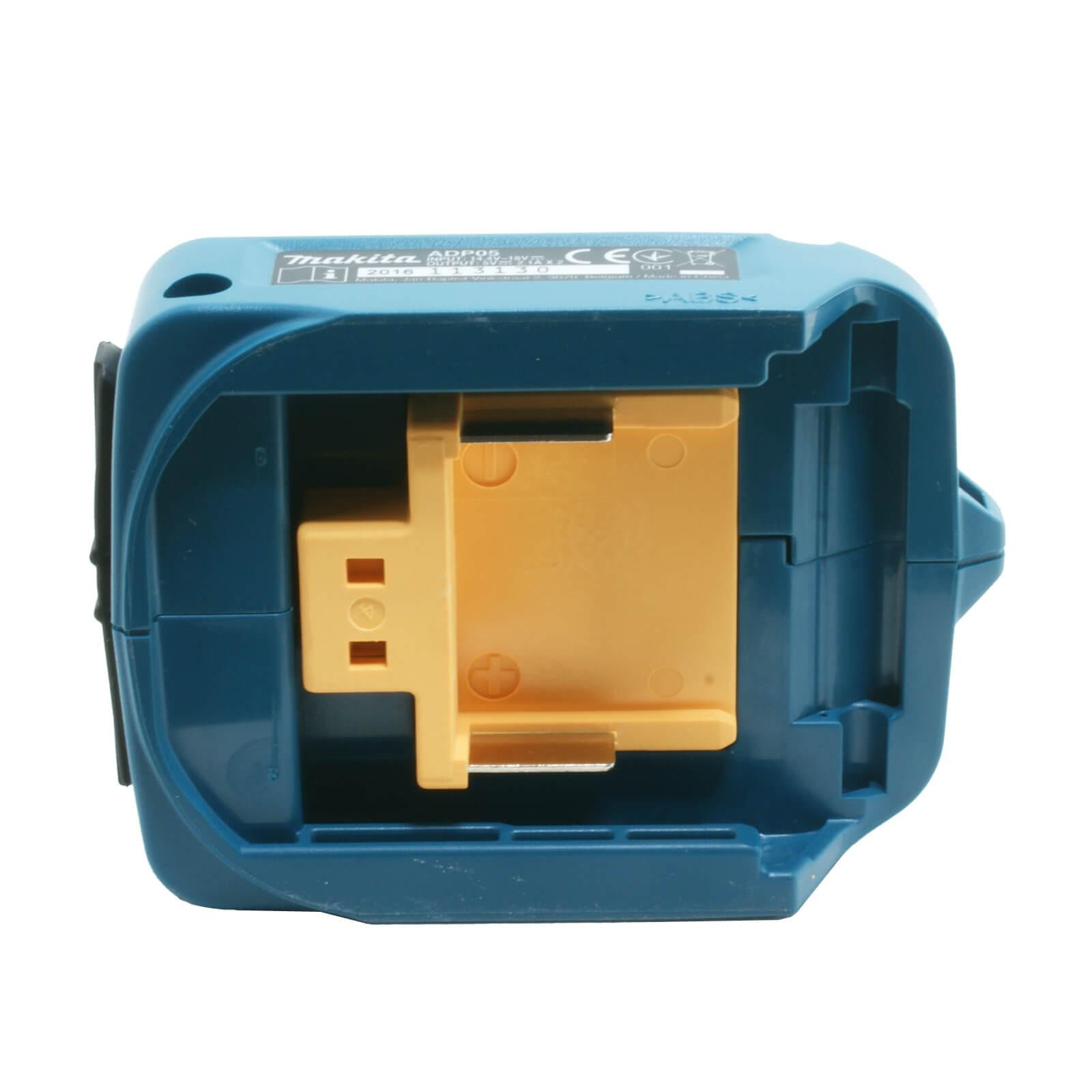 makita akku usb adapter 14 4v 18v li ion akkus. Black Bedroom Furniture Sets. Home Design Ideas