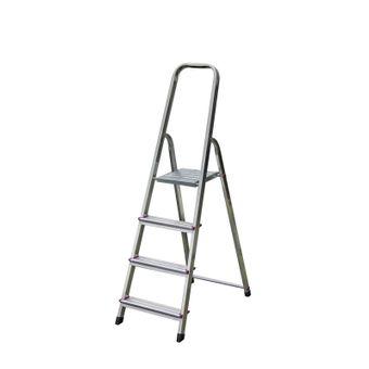Krause Corda Alu Trittleiter Stehleiter 3-6 Stufen Klapptritt Leiter einseitig – Bild $_i