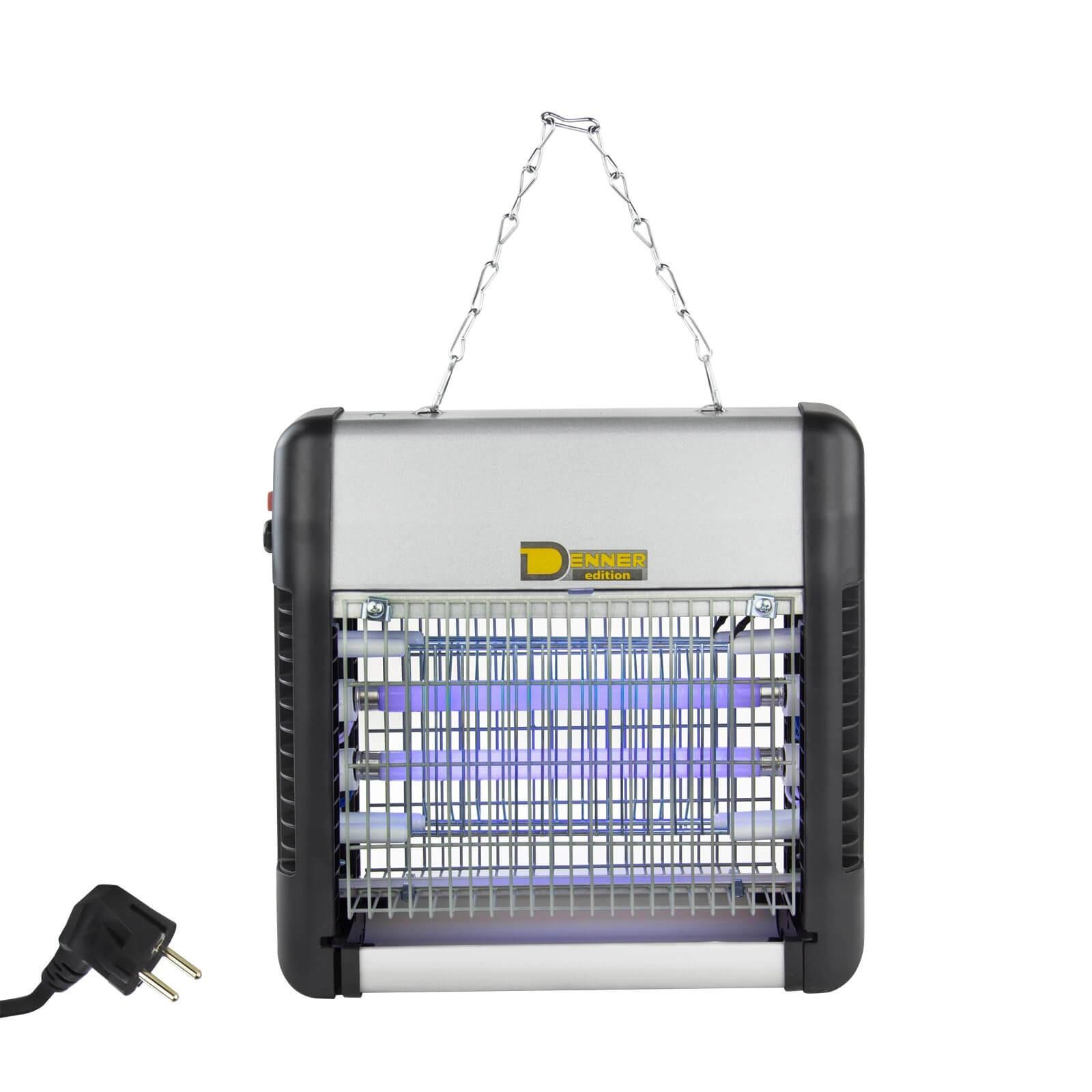 Denner-Edition Elektro Insektenvernichter / Insektenlampe / Insektenfalle 12 Watt UV 94250