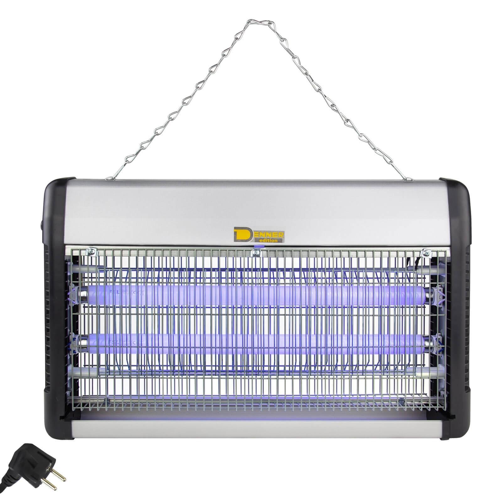 Denner-Edition Insektenvernichter Insektenlampe Insektenfalle Insektenkiller Fliegenfalle 30W 94251