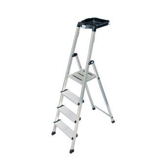 Krause Secury Alu Stehleiter 4 - 6 Stufen Multi-Grip System – Bild $_i