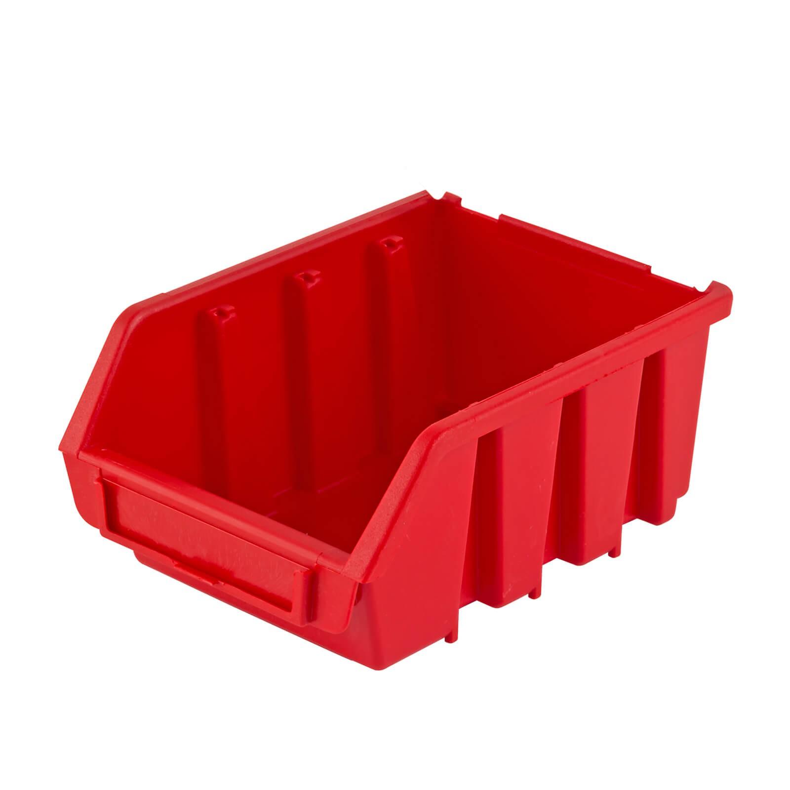 40x Stapelbox Gr 2 Stapelboxen Lagerboxen Kiste Sichtlagerkasten Werkstatt