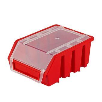 ADB Stapelbox / Ergobox Gr. 2 mit Deckel, 116x161x75mm – Bild $_i