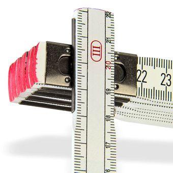 Stabilo Meterstab / Holz Zollstock 2 m – Bild $_i