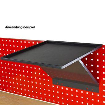 ADB Werkstattwagen Werkzeugwagen Ablage Ablagetisch abklappbar Rollwagen Zubehör – Bild $_i