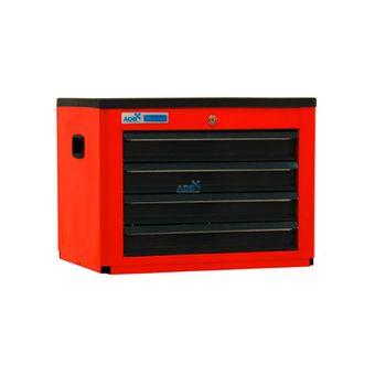 ADB Werkzeugtruhe 4 Schubladen rot Basic 450x600x440 mm – Bild $_i