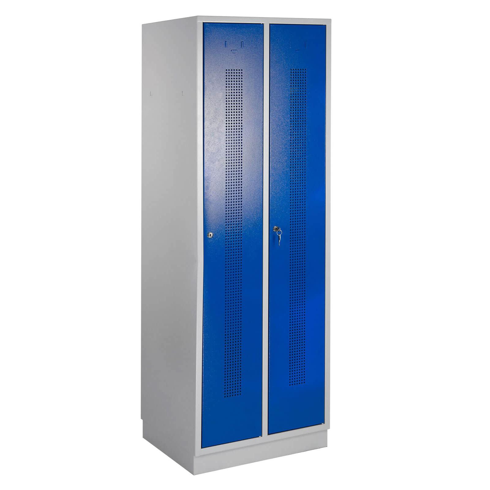 ADB Umkleideschrank / Spind Perfora 1775x600x500 mm blau
