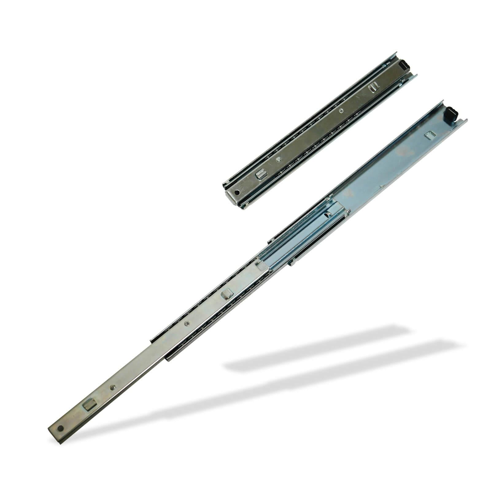 Dema Teleskopschiene 3 stufig 250 - 550 mm für Schubladen var-Teleskopschiene