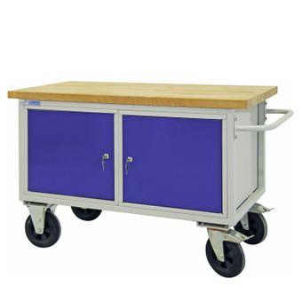 ADB Werkbank / Tischwagen 2 Türen mit Fachboden – Bild $_i