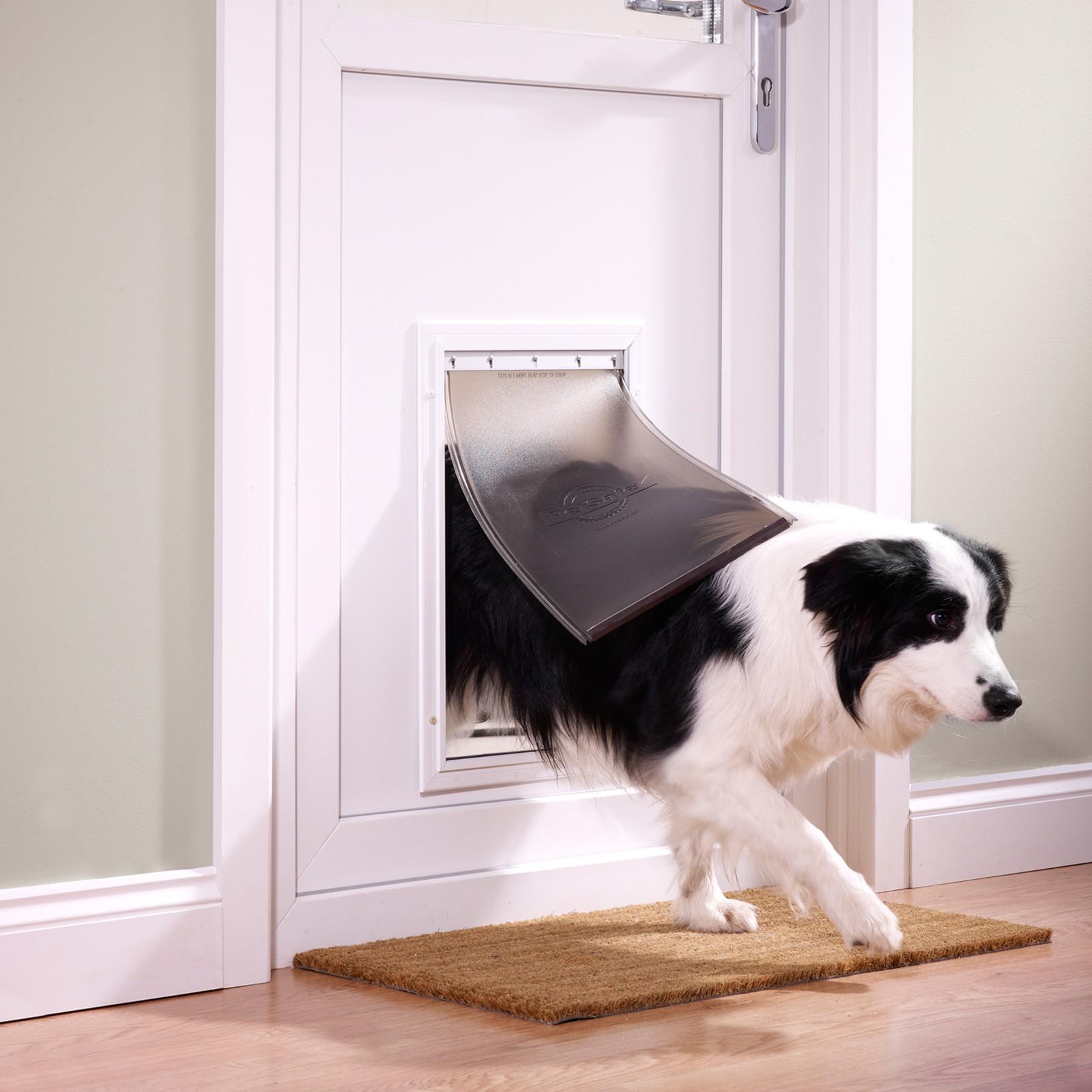 Petsafe Alu Hundetür Haustierklappe Serie 600 var-Hundeklappe