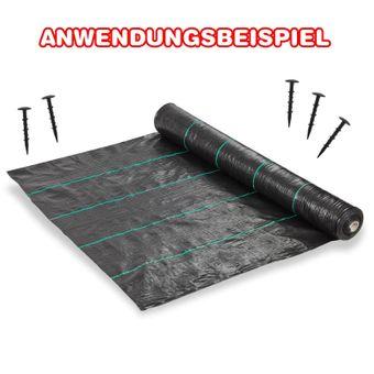 100 Stück Erdanker Befestigung für Mulchfolie 120 mm – Bild $_i