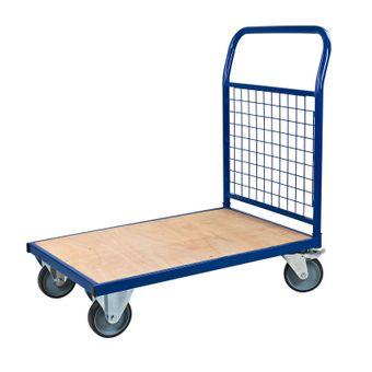 ADB Transportwagen Plattformwagen Handwagen Magazinwagen mit Gitterwand 400 kg – Bild $_i