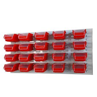 ADB 20-tlg Set Stapelboxen Werkzeugwand – Bild $_i