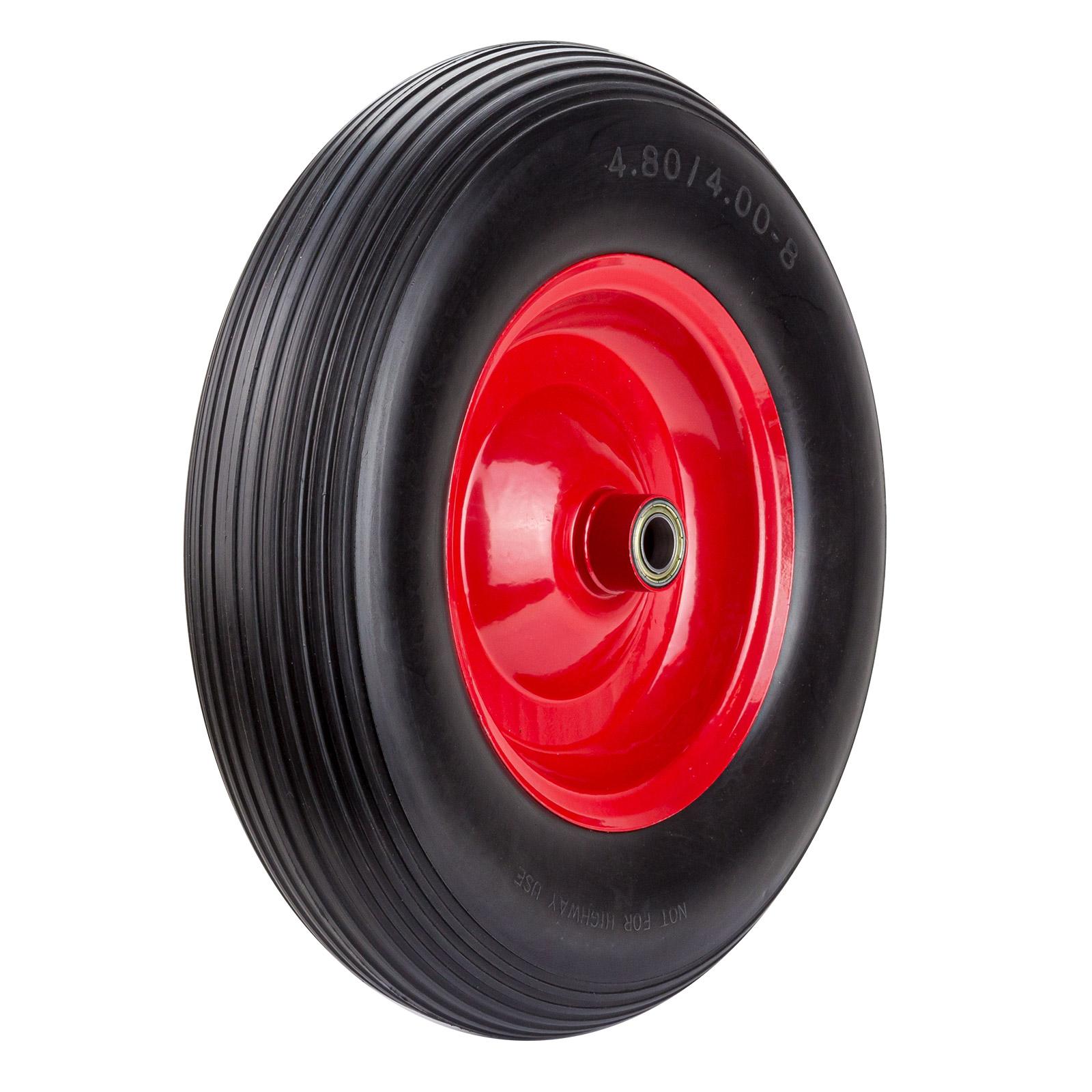 Dema PU Luft Schubkarrenrad Sackkarrenrad Ersatzrad Reifen Rad var-rad