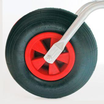 PU Luft Schubkarrenrad Sackkarrenrad Ersatzrad Reifen Rad – Bild $_i
