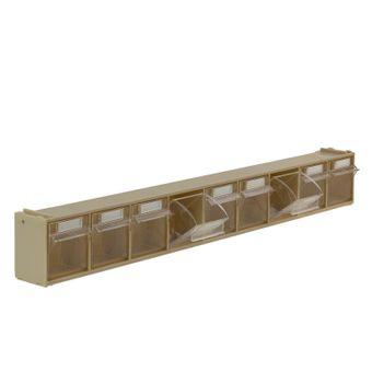ADB Kleinteilemagazin Sortimentskasten 9 Fächer Sortierkasten Lochwand Aufhängen – Bild $_i